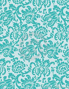 Victorian Wallpaper Vector 2 - Intricate floral wallpaper pattern.