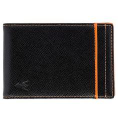 würkin stiffs - Money Clip Wallet Rfid Blocker Orange, Pumpkin