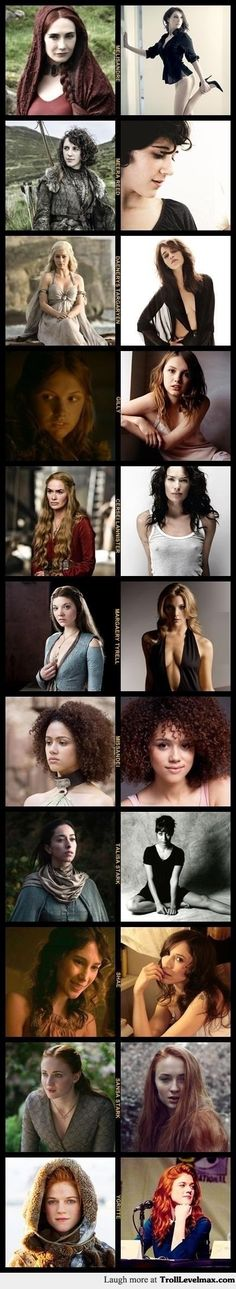 Women of Game of Thrones http://trolllevelmax.com/troll/6053/?new=1