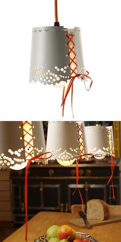 LITTLE LACE - Pendant lamp It's like a fairy tale:)