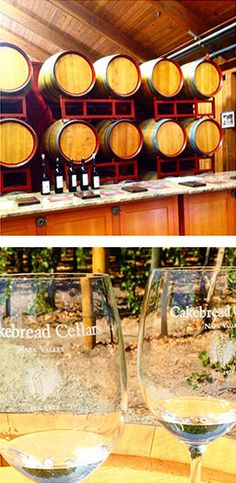I love love love Cakebread Cellars in Napa Valley, California, and highly recommend a visit to their winery. The group tasting and mini tour was fantastic!