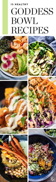 15 Goddess Bowls That Will Get You Out of Your Winter Slump. #goddessbowls #healthybowls #bowlrecipes