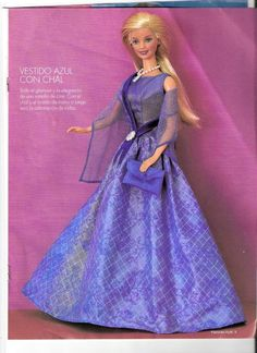 Crie e venda: Roupas da Barbie com molde