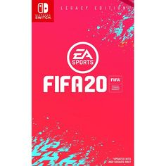 Nintendo Fifa 20 Legacy Edition - Switch in One Colour Kirby Nintendo, Nintendo News, Nintendo Switch Fifa, Nintendo Switch Animal Crossing, Top League, Nintendo Switch Accessories, Fifa 20, Diy Games, Star Citizen
