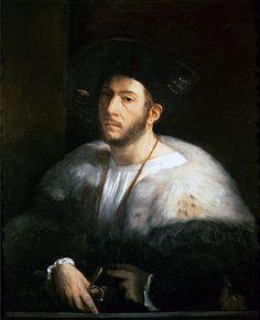 Cesare Borgia Duc de Valentionois son of Pope Alexander VI and Vanozza dei Cattanei, 1518 by Dosso Dossi