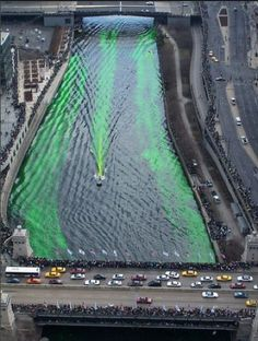 See the Chicago River Turn Green from the Trump's St. Pat's Skyboxes || HotelChatter