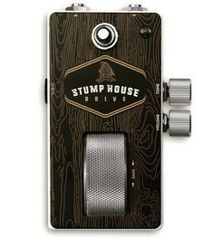 Repost @classicaudioeffects: Next up the Stumphouse overdrive! The stumphouse is a terrific sounding mid gain overdrive pedal that features volume and tone knobs and a unique drive roller. .