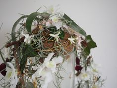 Brudebukett til utstilling under kulturnatt i Drammen.