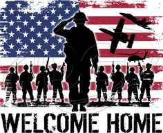 Dixie Tshirt Welcome Home Soldier USA Army Military Rangers Marines Navy AF Iraq #Unbranded #GraphicTee