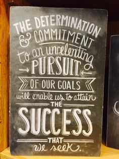 Determination and Commitment equals success. Heritage Gift Shop, 8015821847#homedecor #utah #slc #signs