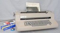IBM SELECTRIC 82 GOLF BALL TYPEWRITER, 1978