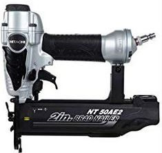 Hitachi Brad Pneumatic Nailer at Lowe's. This Hitachi 2 In. finish nailer is ideal for trim work, furniture and other fine finish applications. Xbox 360, Bump Fire, Diy Barn Door Plans, Best Random Orbital Sander, Finish Nailer, Brad Nails, Nail Gun, Look Here, Ideal Tools