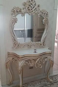 Antique Victorian Mirror Design Ideas For Home Decor - Royal Furniture, Victorian Furniture, Classic Furniture, Paint Furniture, Unique Furniture, Home Decor Furniture, Luxury Furniture, Vintage Furniture, Furniture Design