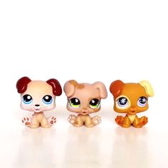 Littlest Pet Shop Dog Puppy Baby Boxer Avent 760 143 1353 Rare Lot Brown Cream  #Hasbro