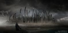 Naggas Hill - The Concept Art of Game of Thrones Season 6: Part 2