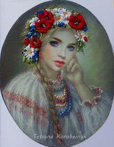 Ukrainian girl by TetianaKorobeinyk.deviantart.com on @DeviantArt