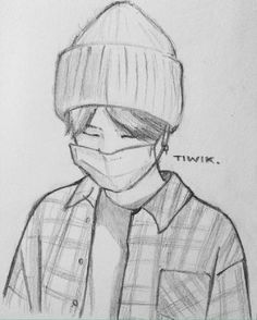 Kpop Drawings, Anime Drawings Sketches, Art Drawings Sketches Simple, Pencil Art Drawings, Anime Sketch, Cartoon Drawings, Sketch Drawing, Cartoon Art Styles, Character Drawing