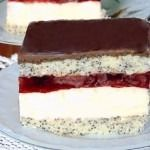 Prajitura fantezie cu cirese sau visine din compot Tiramisu, Food And Drink, Baking, Ethnic Recipes, Desserts, Romanian Recipes, Diy Cake, Bread Making, Postres