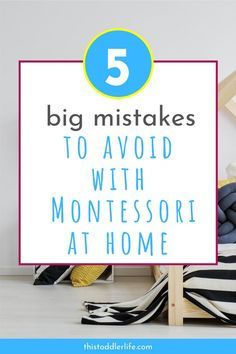 If you are reading this you have probably decided to start practicing Montessori at home. Here are mistakes you should avoid while practicing Montessori with your toddler. What Is Montessori, Montessori Playroom, Montessori Homeschool, Montessori Baby, Montessori Materials, Montessori Activities, Montessori Toddler Bedroom, Preschool Activities, Inspired Learning