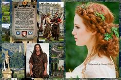 Lovely Scottish themed collage  -  Ax