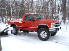 Click this image to show the full-size version. Custom Chevy Trucks, Chevy Pickup Trucks, Gm Trucks, Chevrolet Trucks, Chevrolet Silverado, Lifted Trucks, Silverado Z71, Chevy 4x4, 1957 Chevrolet