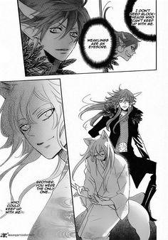 Kamisama Hajimemashita 132 Page 24 - Akura Ou and Tomoe are so attractive!
