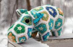 virkattu Hippo Ohje löytyy maksullisena ravelrystä happypotamus -nimellä hakemalla.