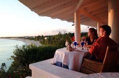 Cena en el paraíso.