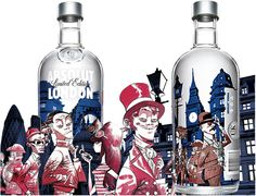 Absolut London Vodka - Limited Edition - DrinksDirect.co.uk