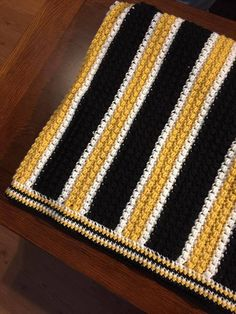 Custom Crochet Stadium Blanket by DeltaGirlCrochet on Etsy