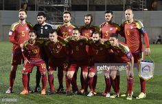 Players of the Andorra national football team (front row, L-R)... #valesmortos: Players of the Andorra national football team… #valesmortos