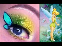 TinkerBell Makeup Tutorial-I think this is so cute! @dandydiva000 @lovelyblossom11 @neonstarz84