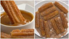 Delicious Churros Recipes Online is under construction Portuguese Recipes, I Foods, Food Inspiration, Love Food, Sweet Recipes, Cookie Recipes, Food Porn, Yummy Food, Favorite Recipes