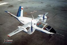 "Russian - Antonov ""An-181"" Was a Channel Wing Aircraft design that Never Flew (2)"