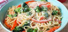 Макароны с овощами по-итальянски. Паста Prima vera