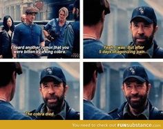 Chuck Norris Makes A Chuck Norris Joke- your argument is so invalid it will not even be considered at this time. Thank you move along.