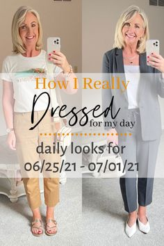How I Really Dressed for My Day this week Classic Style, Style Me, Summer Fashions, Daily Look, Clothing Styles, Fashion Outfits, Womens Fashion, Other People, Work Wear