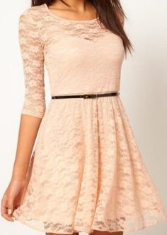 Cute lil dress, not my color but cute!