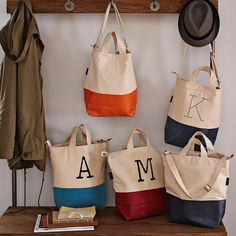 Shop baggu bag collection from west elm. Find a wide selection of furniture and decor options that will suit your tastes, including a variety of baggu bag collection. Best Travel Gifts, Monogram Tote, Monogram Shop, West Elm, My Bags, Tote Bags, Bag Making, Collection, Cotton Canvas