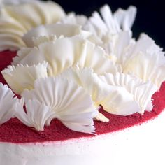 Just another creative way to decorate your cake! Unique Desserts, Creative Desserts, Creative Cakes, Creative Food, Fun Desserts, Dessert Recipes, Cake Decorating Videos, Cake Decorating Techniques, Fun Baking Recipes