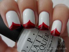 True Blood inspired nails
