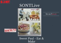 Book https://www.sontlive.com/products/swe... Do you love Sweet Paul Magazine. at sontlive you can get Sweet Paul Cookbook actual price $30.00 but @sontlive $27.99 go get it your Charming Recipes