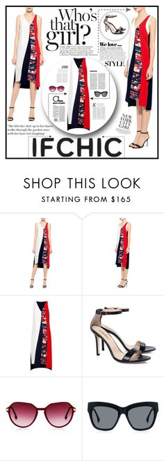 """IFCHIC CONTEST"" by samirhabul ❤ liked on Polyvore featuring Sachin + Babi, Zara, Topshop, ifchic and ifhic"