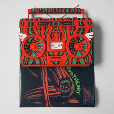 A Tribe Called Quest boombox art toy by Elena Kazi A Tribe Called Quest, Boombox, Photo And Video, Toys, Videos, Instagram, Art, Activity Toys, Art Background