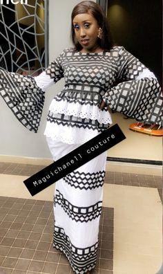 African Wear, African Dress, African Fashion Skirts, Ankara Dress, Skirt Set, Gowns, Formal Dresses, Chic, How To Wear