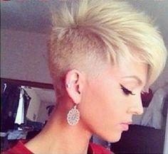 undercut Miley style pixie