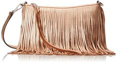 Amazon.com: Rebecca Minkoff Finn Cross Body Bag, Rose Gold, One Size: Shoes