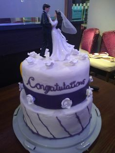 Wedding cake by Caitlin