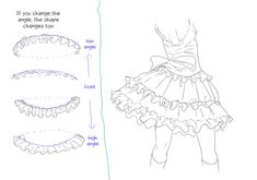 A Granny in Sheep's Clothing — Frills tutorial -