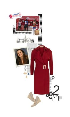 """Untitled #2655"" by duchessq ❤ liked on Polyvore featuring McGinn, WALL, Burberry, Mint Velvet and Chopard"